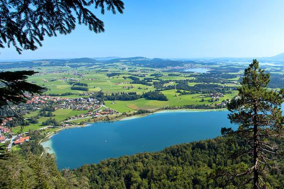 Campingurlaub in Füssen ist Ideal für Naturliebhaber.