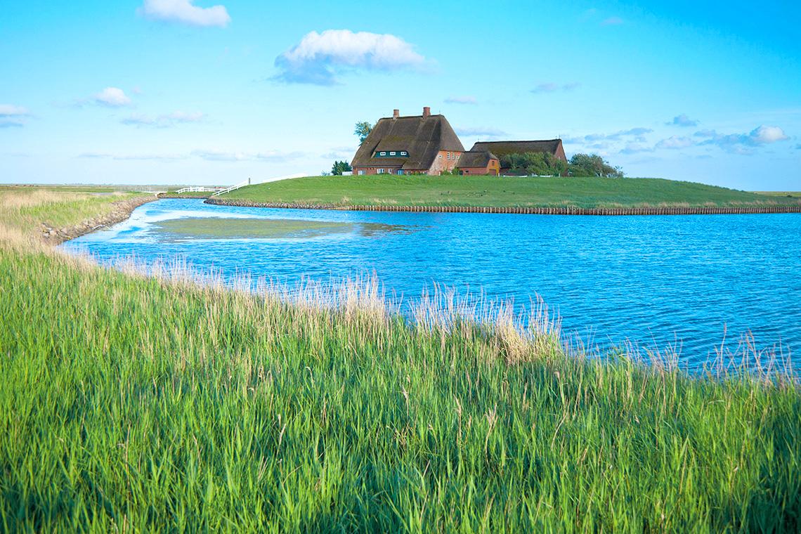 Die Nordsee-Region präsentiert den Urlauber eine traumhafte Naturlandschaft.