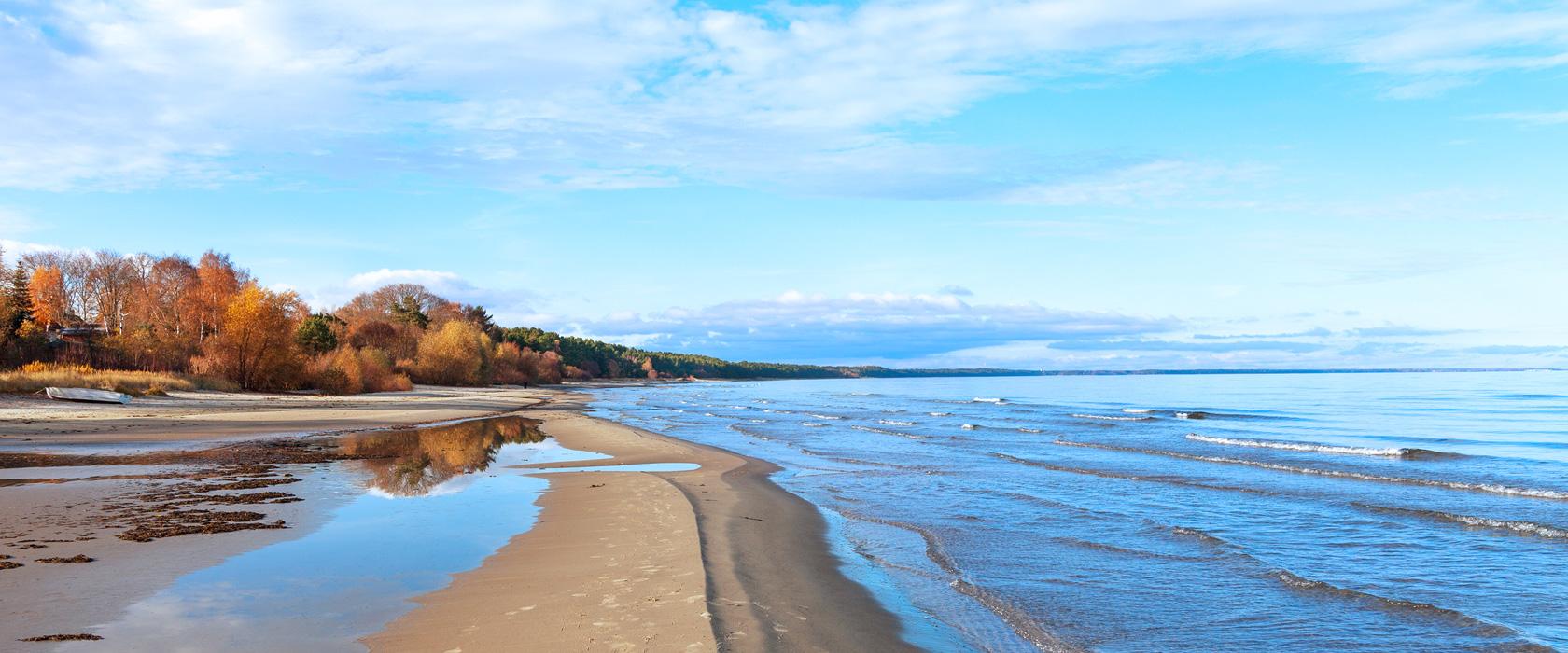 Die Ostsee präsentiert sich beim Camping mit seiner traumhaften Natur.